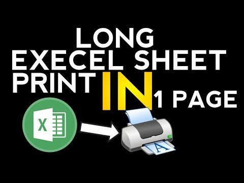 how to print large excel sheet in 1 page