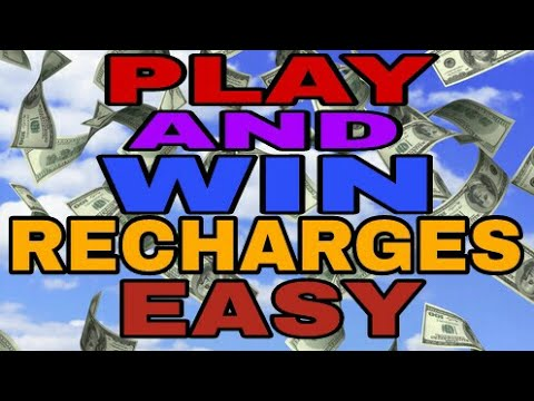 Earn recharges just play games