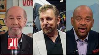 Michael Wilbon and Tony Kornheiser discuss James Dolan's handling of protests   PTI