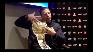 Interview with The Miz on the Australian tour with WWE