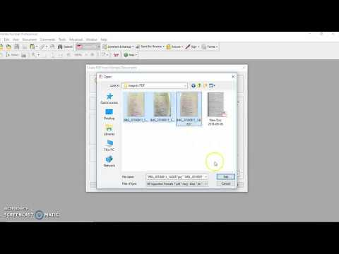 How to convert images into PDF or Portable Document Format File | इमेज से पीडीऍफ़  कन्वर्ट करो