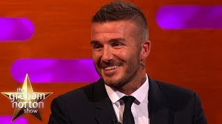 David Beckham Tried To Stay Calm When His Daughter Was Tackled   The Graham Norton Show