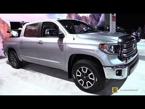 2018 Toyota Tundra Limited - Exterior and Interior Walkaround - 2017 LA Auto Show