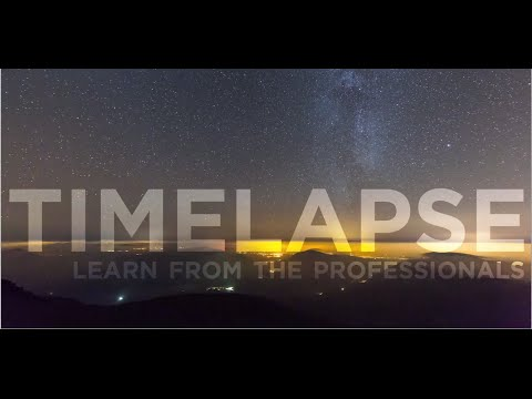 Timelapse Photography - Learn from the Professionals - Canon