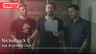 Nickelback Talk About Feed The Machine, Chad