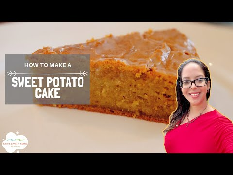 How to Make Sweet Potato Cake (View in HD)