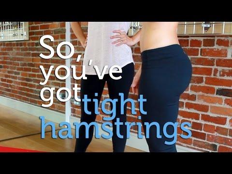 How to Treat Tight Hamstrings