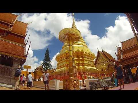 Wat Phra That Doi Suthep Chiang Mai, Thailand วัดพระธาตุดอยสุเทพ