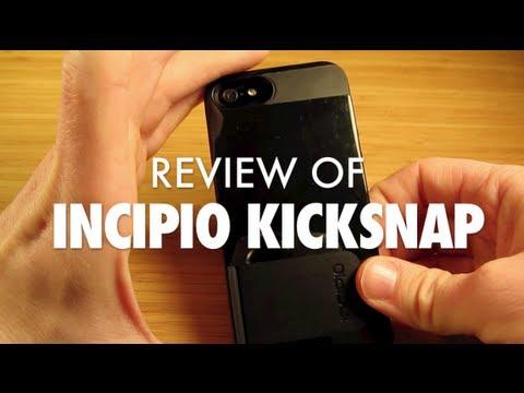 REVIEW of Incipio KickSnap Case for iPhone 5