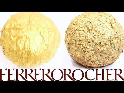 how to make GIANT FERRERO ROCHER! 2 WAYS! NO BAKE! | Its A Piece Of Cake