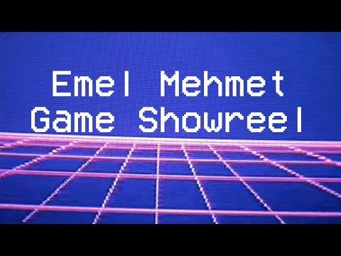 Emel Mehmet -  Game Design Showreel - 2018