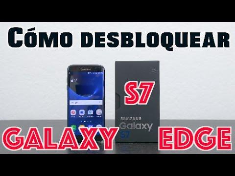 Cómo desbloquear Samsung Galaxy S7 Edge (Cualquier operador o país) AT&T, T-Mobile, MetroPCS, ETC