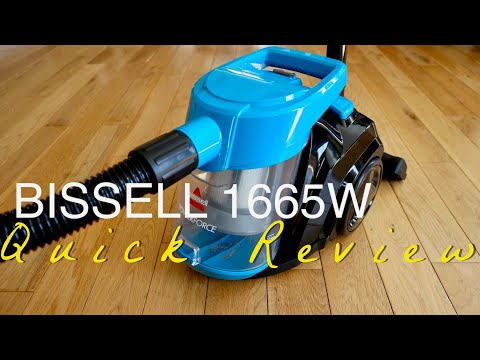BISSELL PowerForce Bagless Canister Vacuum (1665W)