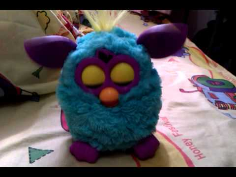 Sleeping Furby