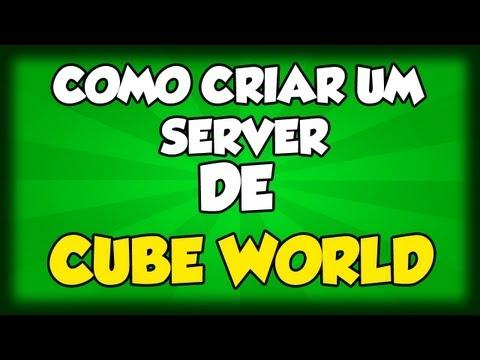 Como Criar um Server de Cube World | Como jogar Cube World Multiplayer
