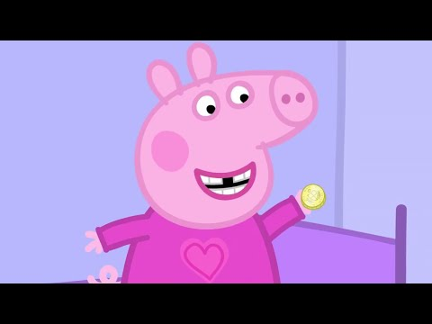 Peppa Pig English Episodes - Peppa and the Toothfairy! - #060