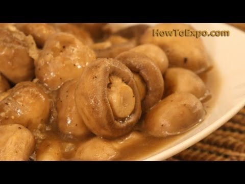 Sauteed Mushrooms with Garlic And Spices Easy To Make Sauteed Mushrooms With Garlic