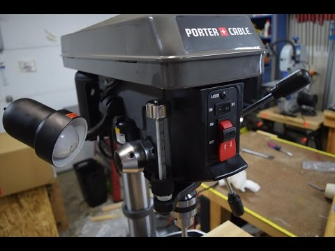 Porter Cable Drill Press - Assembly (WoodLogger.com)