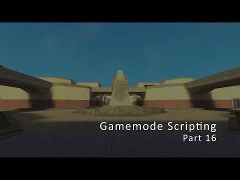 Garry's Mod Gamemode Scripting | Menu: Button Click | Part 16
