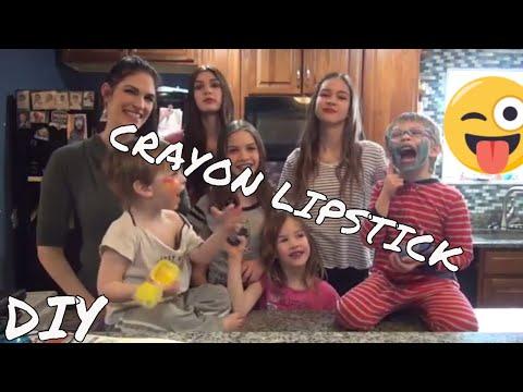 Crayon Lipstick Balm (DIY Video)