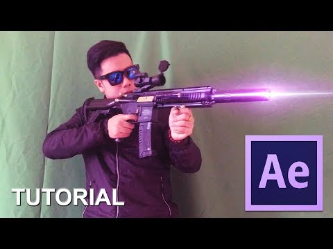 After Effects Tutorial: Laser Gun Effect [TUT]