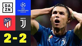 Offensiv-Spektakel bei gerechtem Remis: Atletico - Juventus 2:2 | UEFA Champions League | DAZN