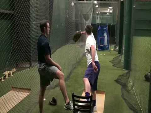 Improve Pitching Accuracy : Baseball Chair Drill