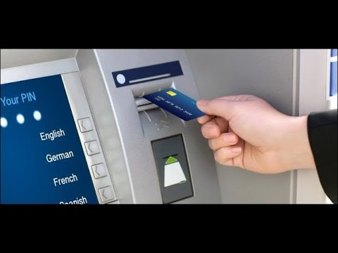 how to take Money from ATM Machine