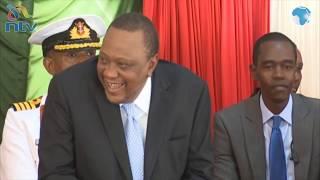MP Oscar Sudi cracks up President Uhuru with his speech at Rivatex EA