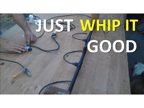How To Make The Ankle Tickler Air Blaster: Air Whipping Prop