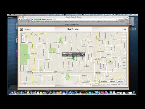 Using Find My iPhone-iPad to find or lock down an iOS device