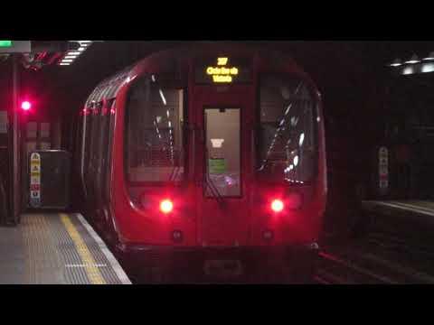 London Underground Circle line S7 Departures Liverpool Street for Edgware Road (via Victoria)