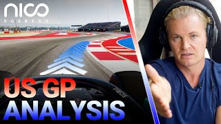How to Master the US GP!   Nico Rosberg   F1 Circuit of The Americas 2021