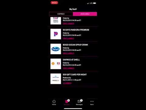 T-Mobile Tuesday May 22 2018