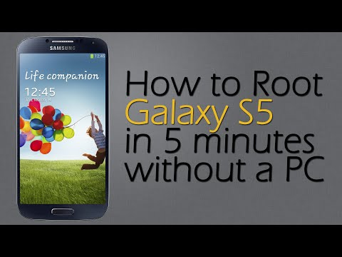 How to Root Samsung Galaxy S5 in 5 minutes without a PC [Safe & No Loss Data]