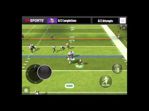 How to catch a pass in Madden Mobile