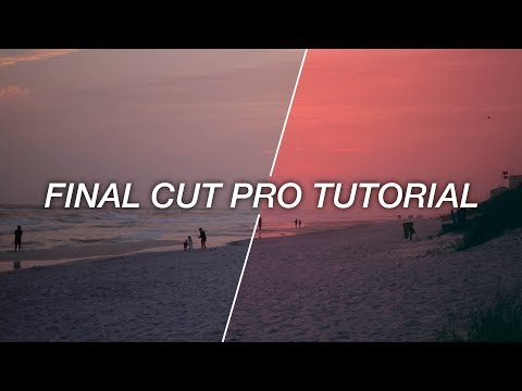 EASY Color Grading/Editing Tutorial in Final Cut Pro! How I Color My Videos! | BTS #3