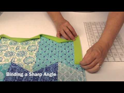 Terry's Tips: How to Bind Any Angle