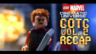 Guardians of The Galaxy Vol. 2 Recap in LEGO