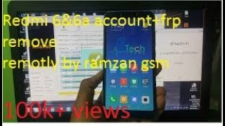 XIOMI REDMI 6/6A PATTERN FRP AND MI ACCOUNT REMOVED BY SP