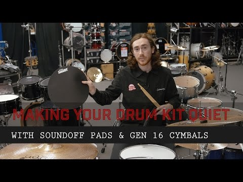Making your drum kit Quiet