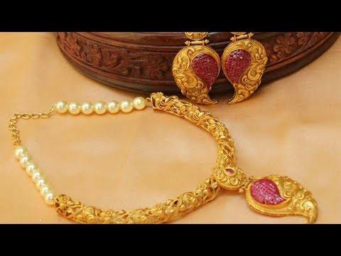 Gold Necklace Design Images