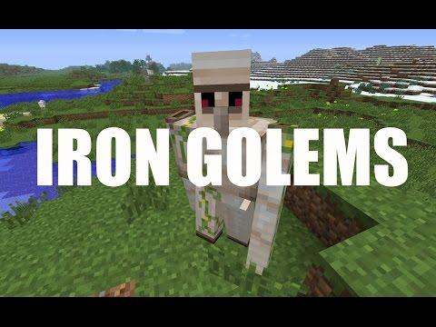 HOW TO MAKE AN IRON GOLEM (CREATIVE)| Minecraft 1.8.1