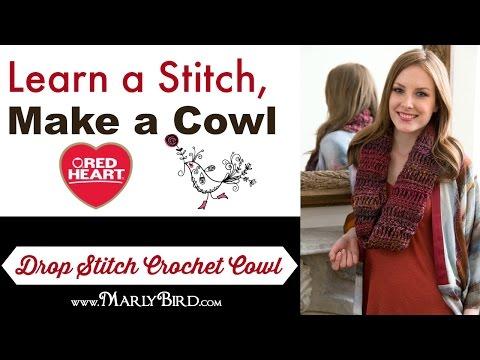 Drop Stitch Crochet Cowl