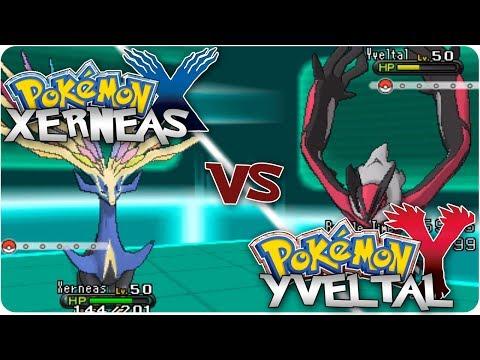Pokemon X & Y: Xerneas vs. Yveltal Legendary Battle!