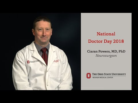 National Doctors Day 2018:  Ciaran Powers, MD, PhD