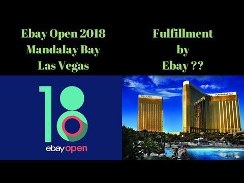 HUGE EBAY NEWS Live.  Fulfillment by Ebay? Ebay Open 2018 & MORE