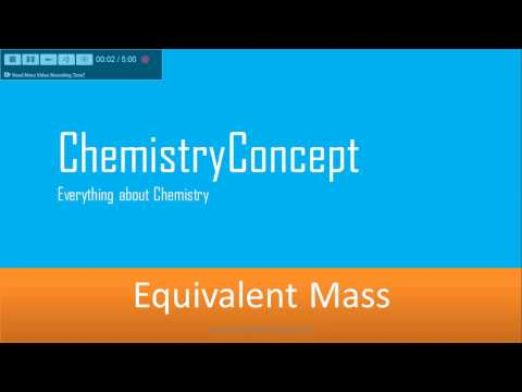 How to calculate Equivalent Mass ? | IIT JEE, NEET, AIIMS, CBSE