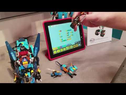 Ninjago Stormbringer Turns Lego Boost into a Dragon Robot