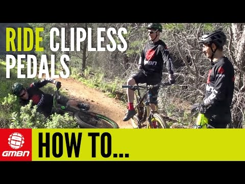 How To Ride Your Mountain Bike With Clipless Pedals